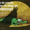 Malik Hyltoft: Den lille krokodille, der var bange for prinsesser