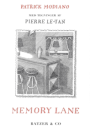 Patrick Modiano: Memory Lane